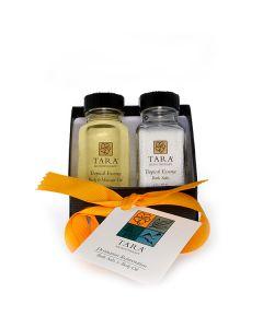 Tropical Euphoria  Rejuvenation Set (2 oz Bath Salt + 2 oz Body & Massage Oil)